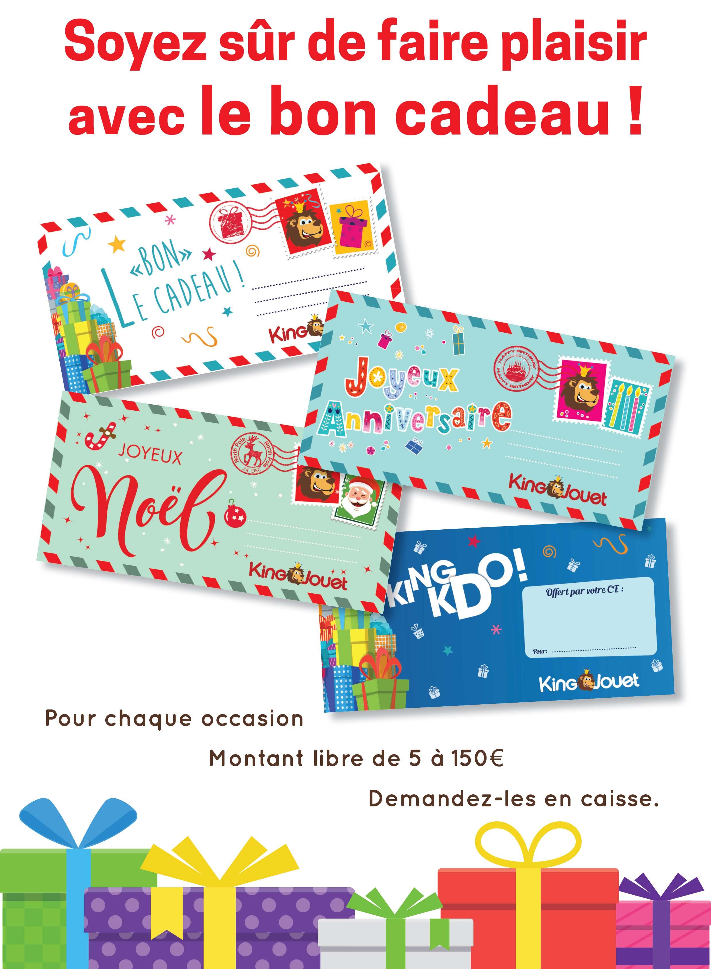 Carte King Carte Cadeau Jouet Cadeau tdsQrCh
